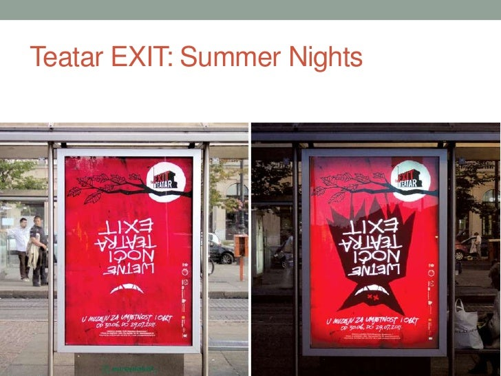 Teatar EXIT: Summer Nights<br />