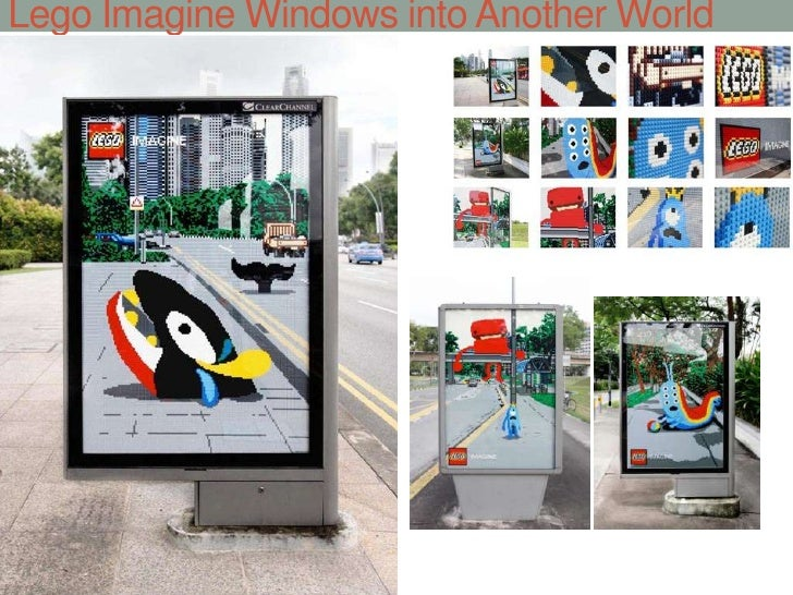 Lego Imagine Windows into Another World<br />