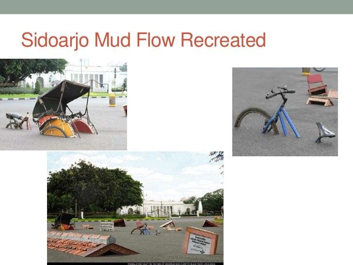 Sidoarjo Mud Flow Recreated<br />