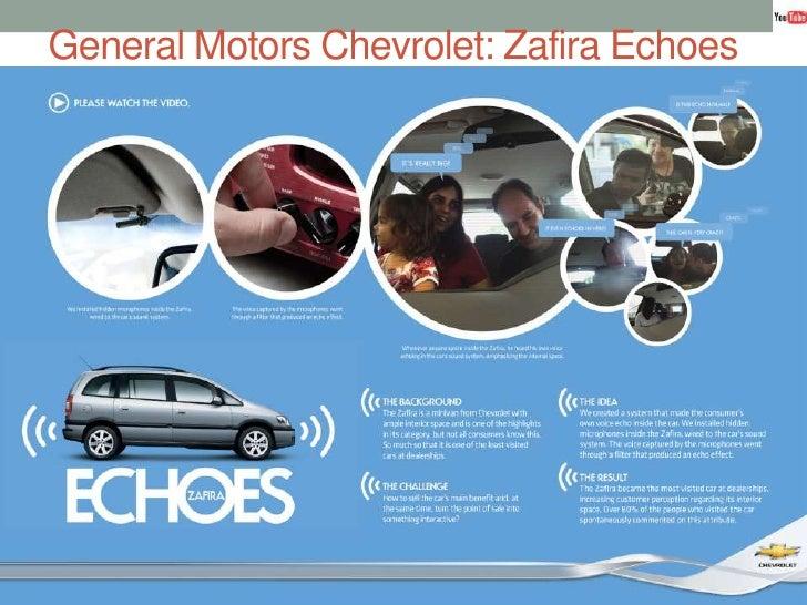 General Motors Chevrolet: ZafiraEchoes<br />