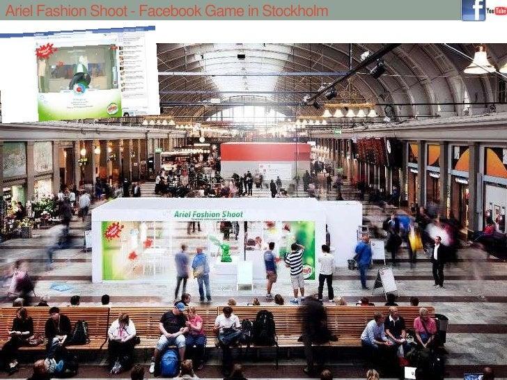 Ariel Fashion Shoot - Facebook Game in Stockholm<br />