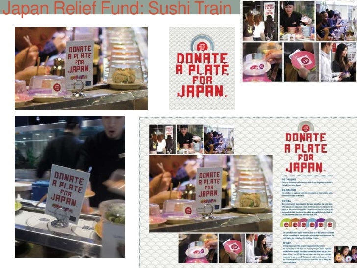 Japan Relief Fund: Sushi Train<br />