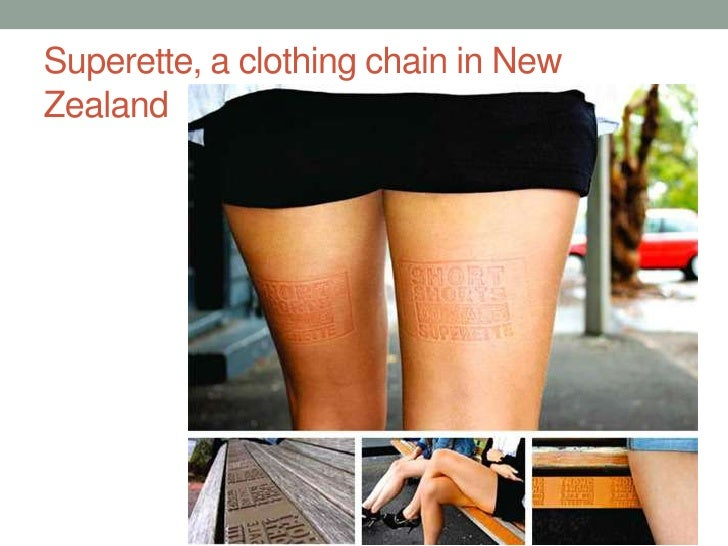 Superette, a clothing chain in New Zealand<br />