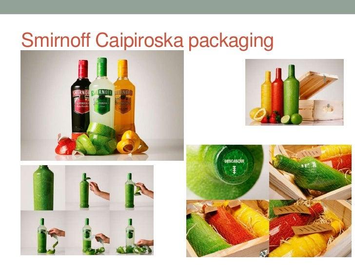 Smirnoff Caipiroskapackaging<br />