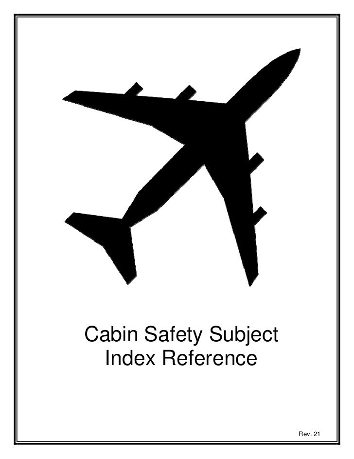 2011 r 021 cabin safety subject index for operators
