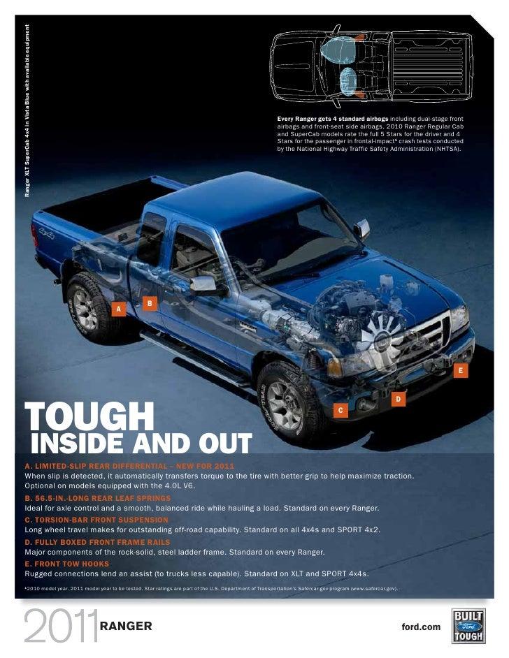 2010 ford ranger brochure canada