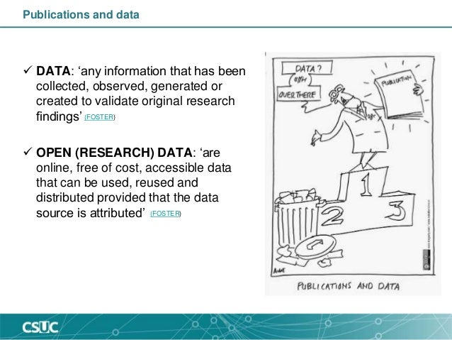 Research data management: DMP & repository Slide 2