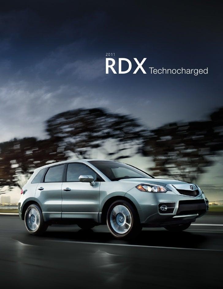2011    RDX    Technocharged