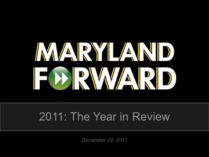 2011: The Year in Review December 29, 2011
