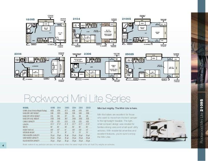 2011 Rockwood Mini Lite Mini Etc Roo Travel Trailers And