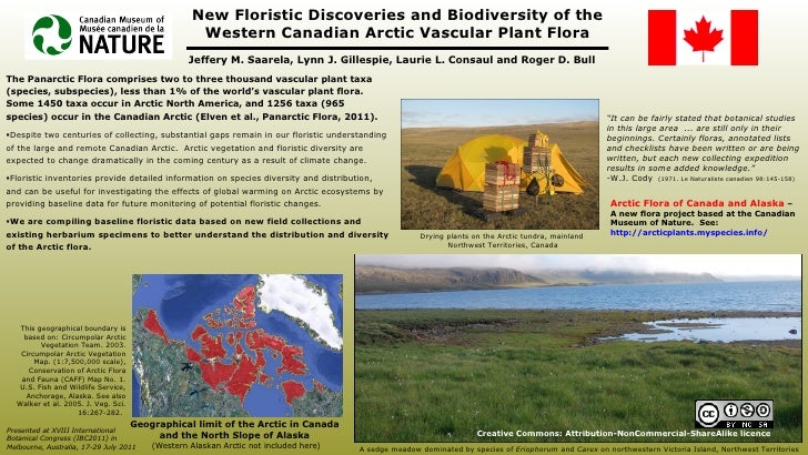 New Floristic Discoveries and Biodiversity of the Western Canadian Arctic Vascular Plant Flora Jeffery M. Saarela, Lynn J....
