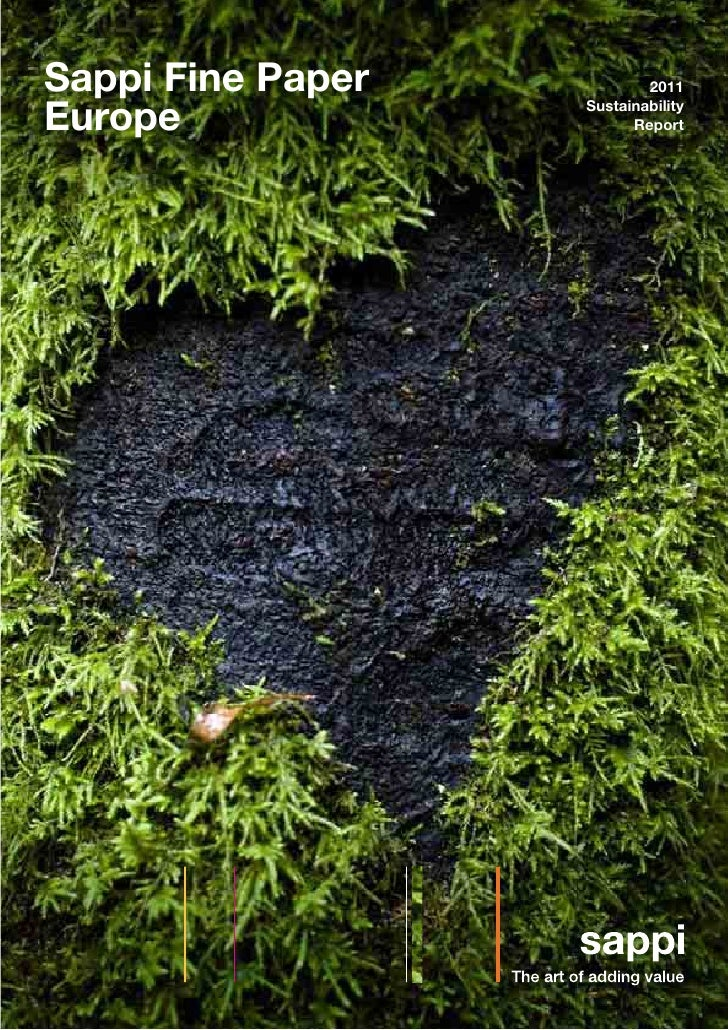 Sappi Fine Paper           2011Europe             Sustainability                         Report