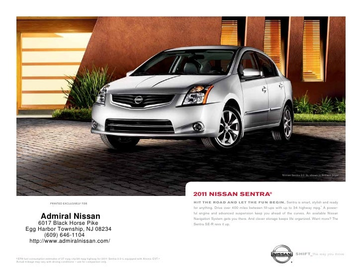 Nissan Sentra 2.0 SL Shown In Brilliant Silver. ...
