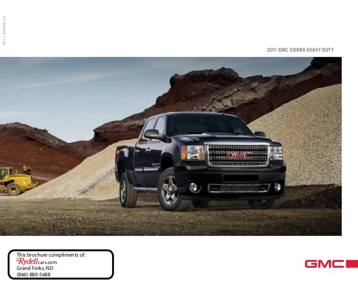 2011 SIERRA HD                                                 2011 GMC SIERRA HEAVY DUTY                 This brochure co...