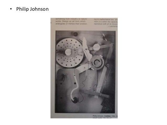 • Philip Johnson