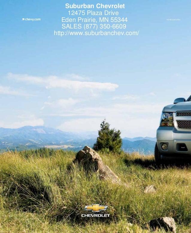 2011 Chevy Suburban Eden Prairie Mn Suburban Chevrolet