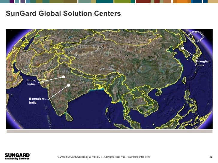SunGard Global Solution Centers                                                                                           ...