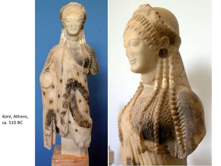 Kore, Athens, ca. 510 BC<br />