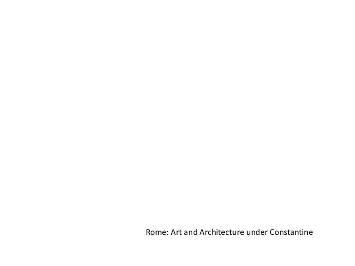Rome: Art and Architecture under Constantine<br />