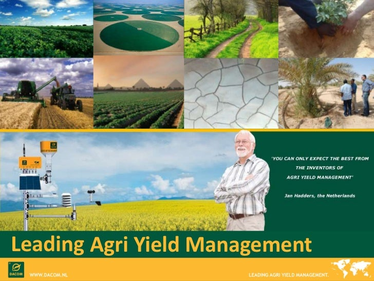 Leading<br />AgriYield Management<br />