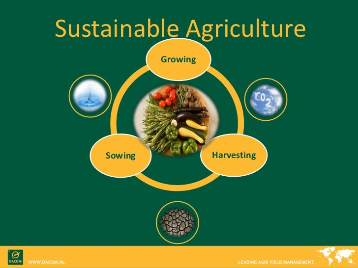 Sustainable Agriculture With Dacom