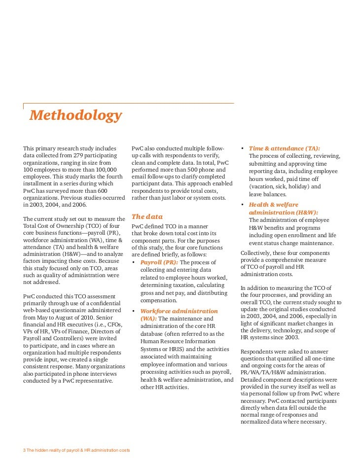 PwC Total Cost of Ownership Study - Exposing the …