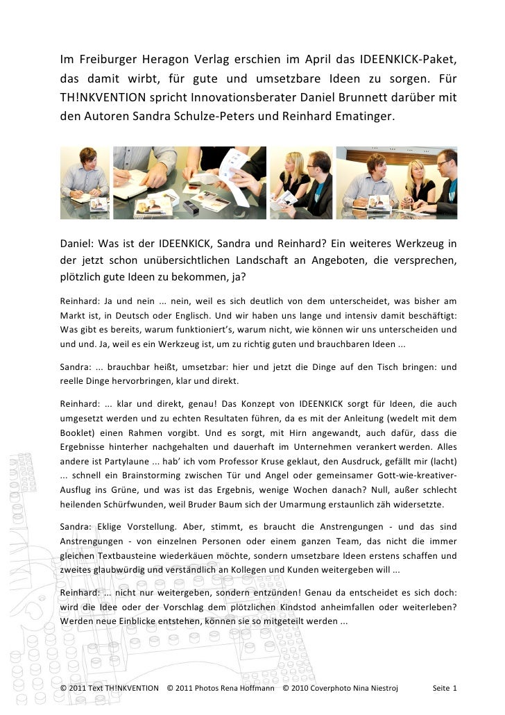 Im  Freiburger  Heragon  Verlag  erschien  im  April  das  IDEENKICK-‐Paket...