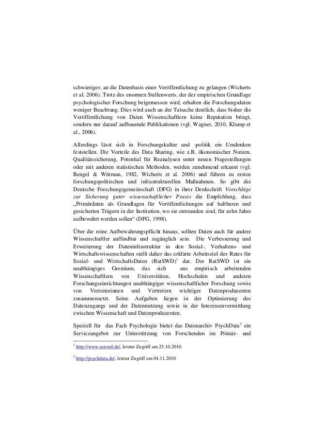 Dehnhard, I., Weiland, P. (2011, März). Toolbasierte Datendokumentation in der Psychologie (PDF) 12. Internationales Symposium für Informationswissenschaft, Universität Hildesheim. Slide 2