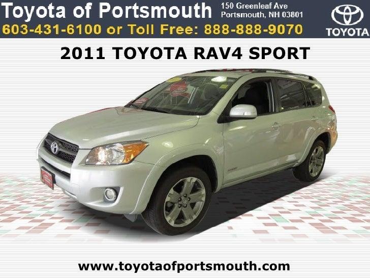 Toyota RAV Sport Portsmouth NH Toyota Dealer - Toyota dealer nh