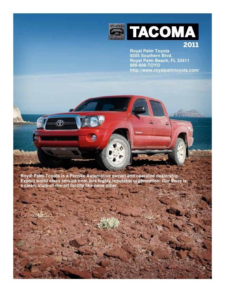 ... Toyota Tacoma Royal Palm Beach FL. 2011 ...
