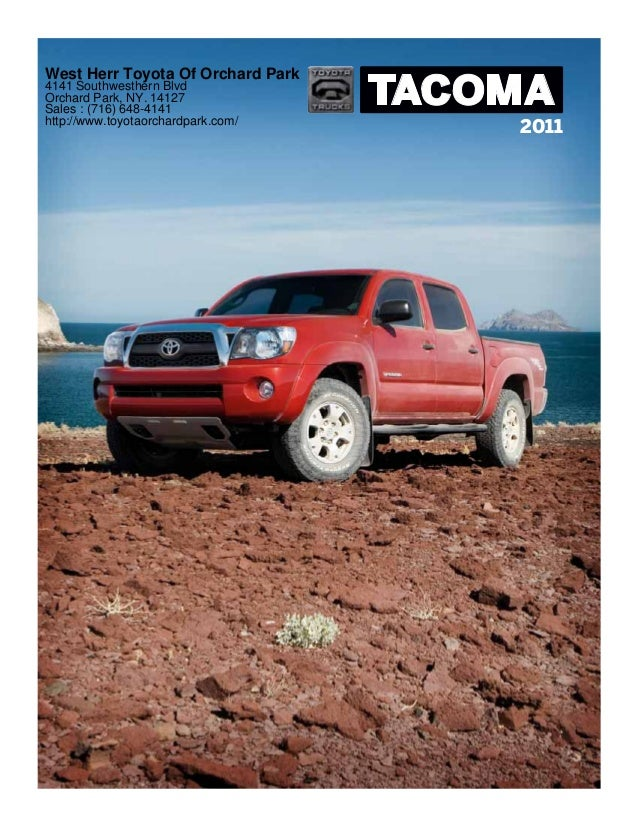 2011 toyota tacoma west herr toyota of orchard park ny. Black Bedroom Furniture Sets. Home Design Ideas