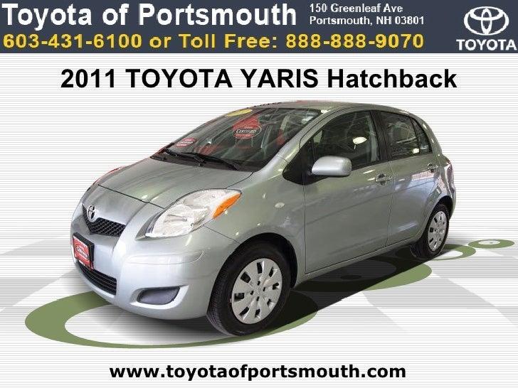 Used Toyota Yaris Hatchback Portsmouth NH Toyota Dealer - Toyota dealer nh