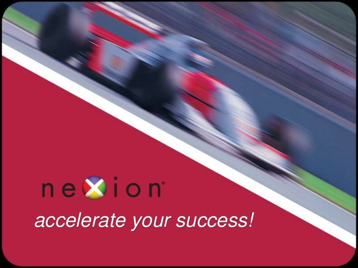 accelerate your success!<br />