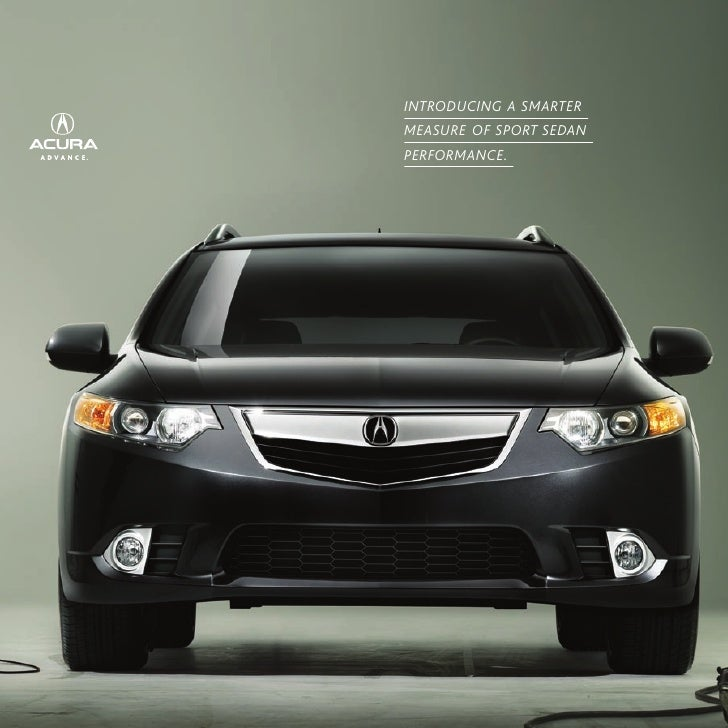 2011 Acura TSX Wagon Mini-Brochure
