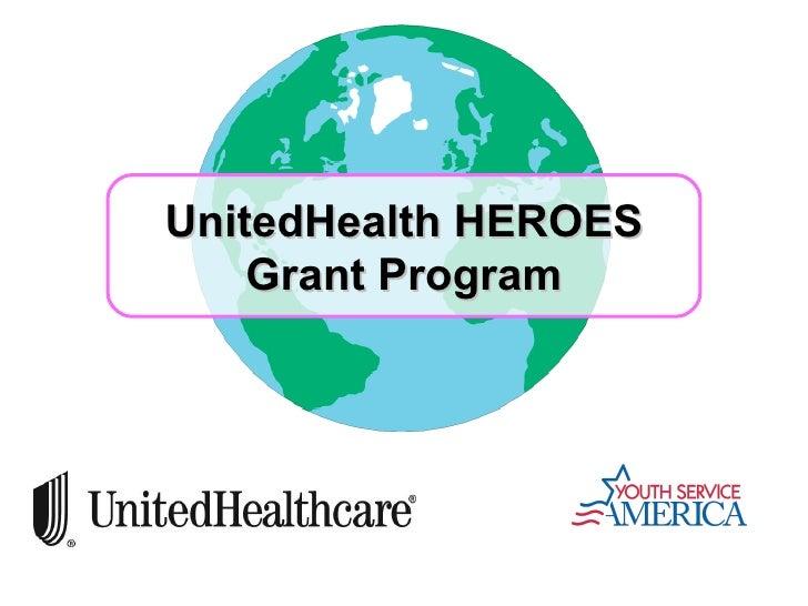 UnitedHealth HEROES Grant Program
