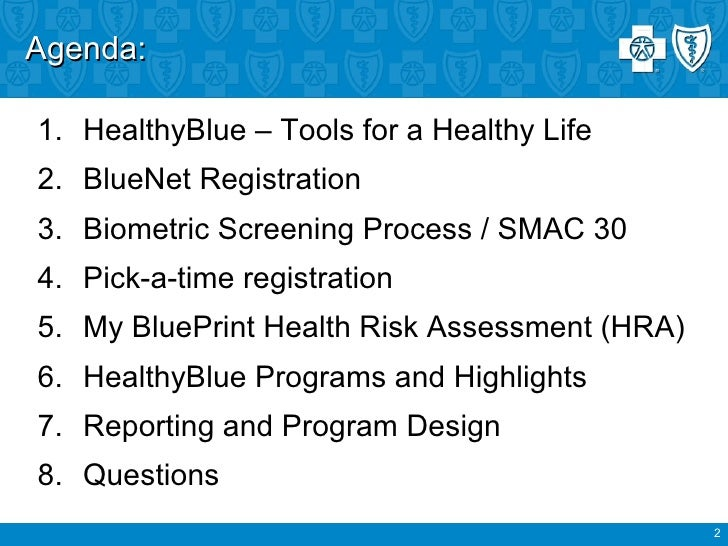 2011 welcome to healthy blue and the my blueprint blueprint health assessment 2 malvernweather Images