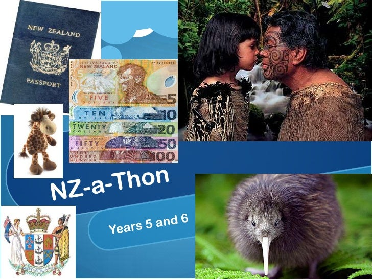 NZ-a-Thon<br />Years 5 and 6<br />