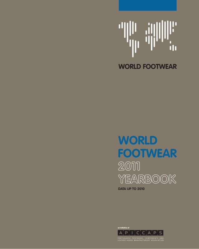 Production of footwear worldwide reached                                                                                20...