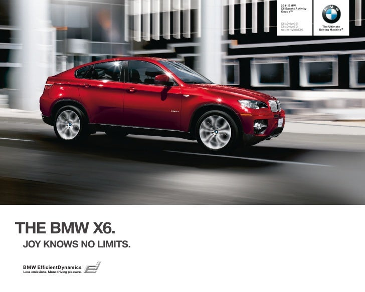 2011 BMW                                         X6 Sports Activity                                         Coupe™        ...