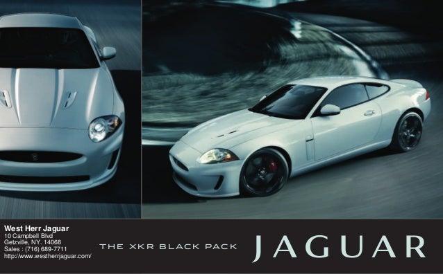 2011 jaguar xkr west herr jaguar getzville ny slideshare