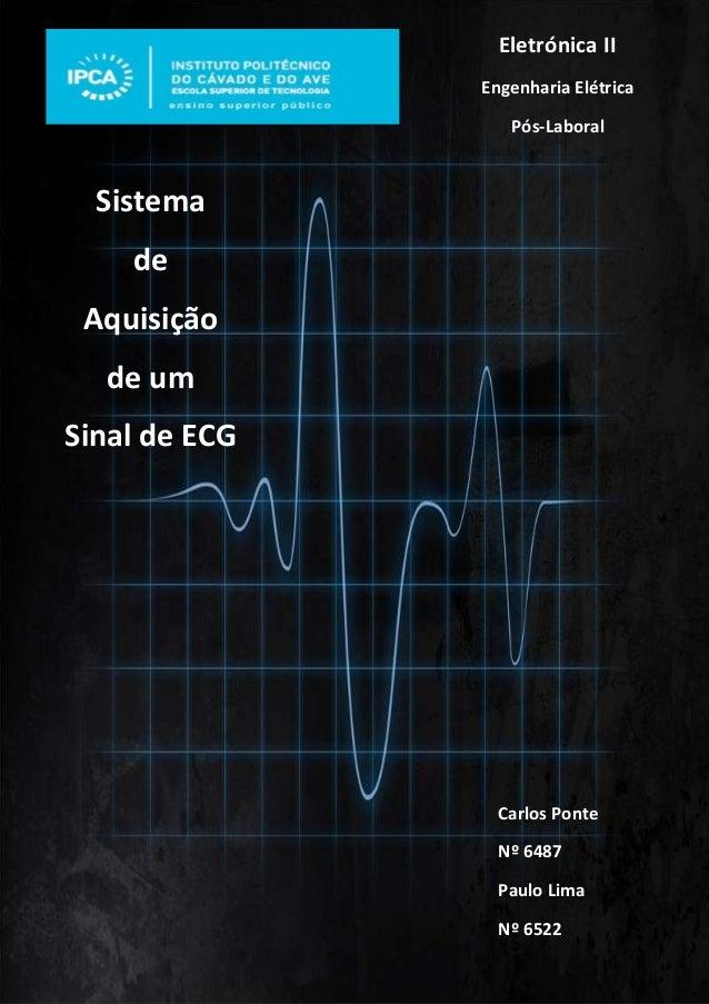 Instituto Politécnico do Cávado e do Ave | 2011/2012 Engenharia Elétrica - Eletrónica 2 | 1 Eletrónica II Engenharia Elétr...