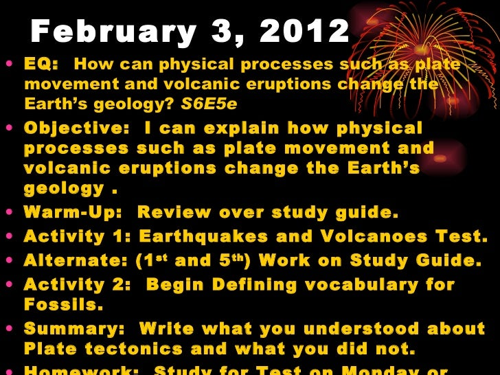 volcanoes and earthquakes study guide Volcanoes and earthquakes test bew c 1 where do earthquakes occur earthquakes occur at breaks in the earth's crust called the fault lines 2.