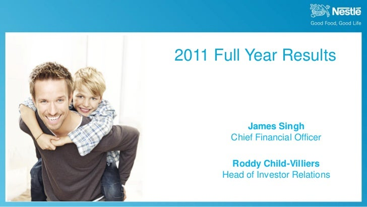 2011 Full Year Results                                                           James Singh                              ...
