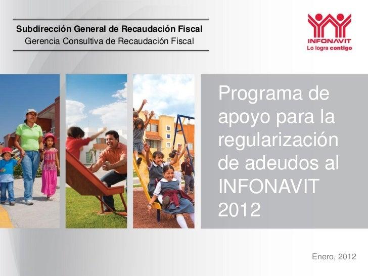 Subdirección General de Recaudación Fiscal  Gerencia Consultiva de Recaudación Fiscal                                     ...