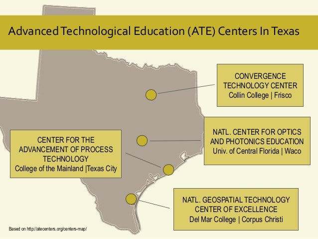 Advanced Technological Education (ATE) Centers In Texas  CONVERGENCE TECHNOLOGY CENTER Collin College | Frisco  CENTER FOR...