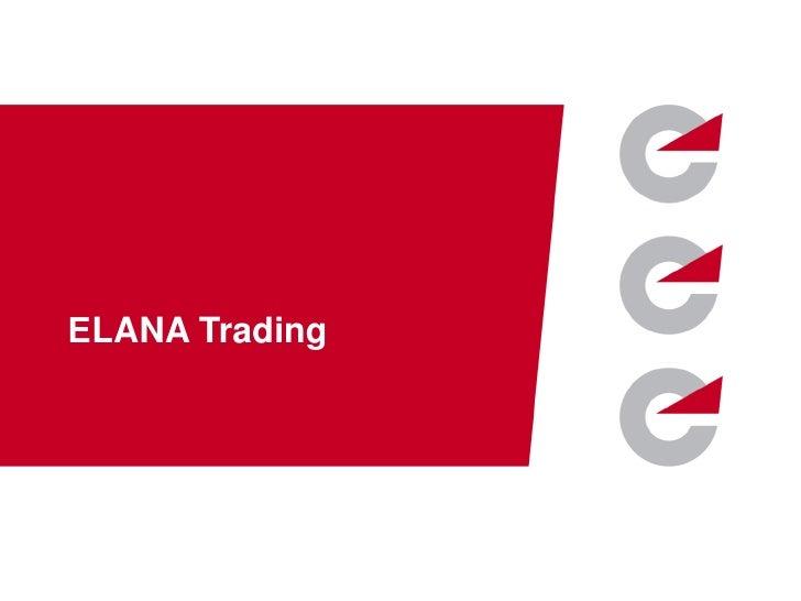ЕLANA Trading    www.elana.net