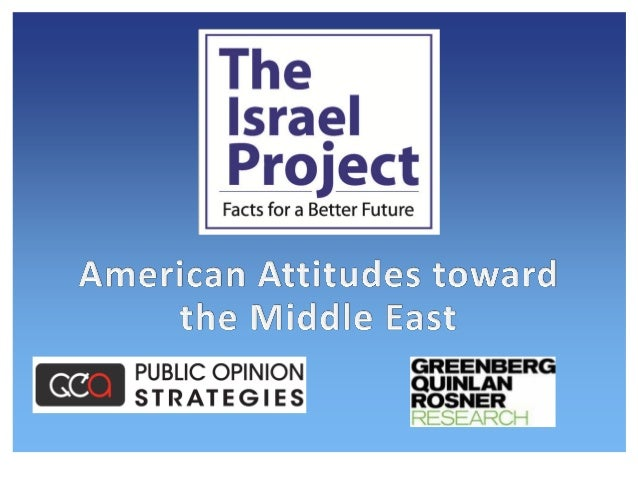 2 Methodology On behalf of The Israel Project, Public Opinion Strategies and Greenberg Quinlan Rosner Research conducted a...
