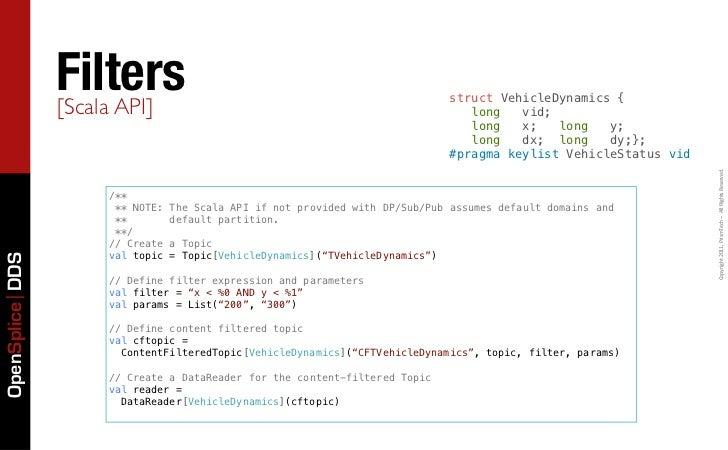 Filters                 [Scala API]                                                                                struct ...