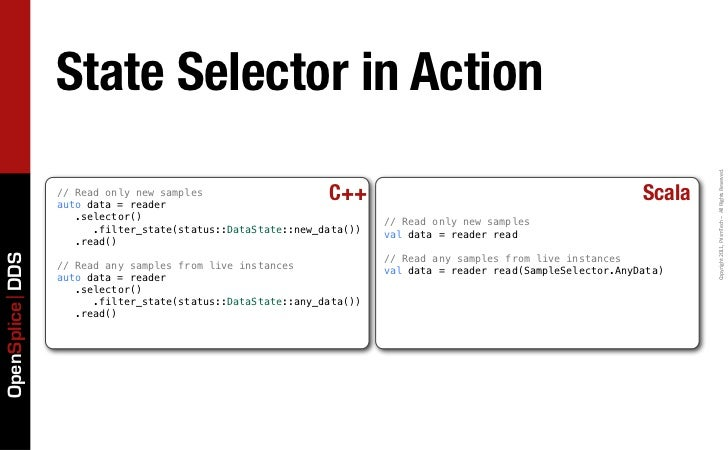 State Selector in Action                                                                                                  ...