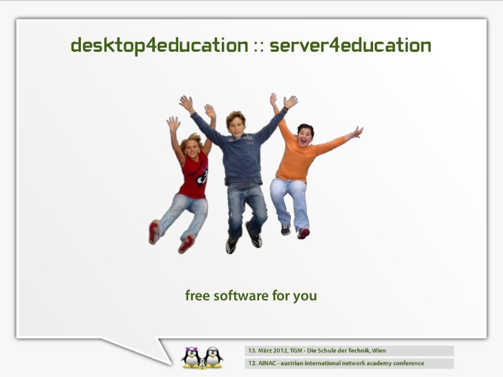 desktop4education :: server4education           free software for you